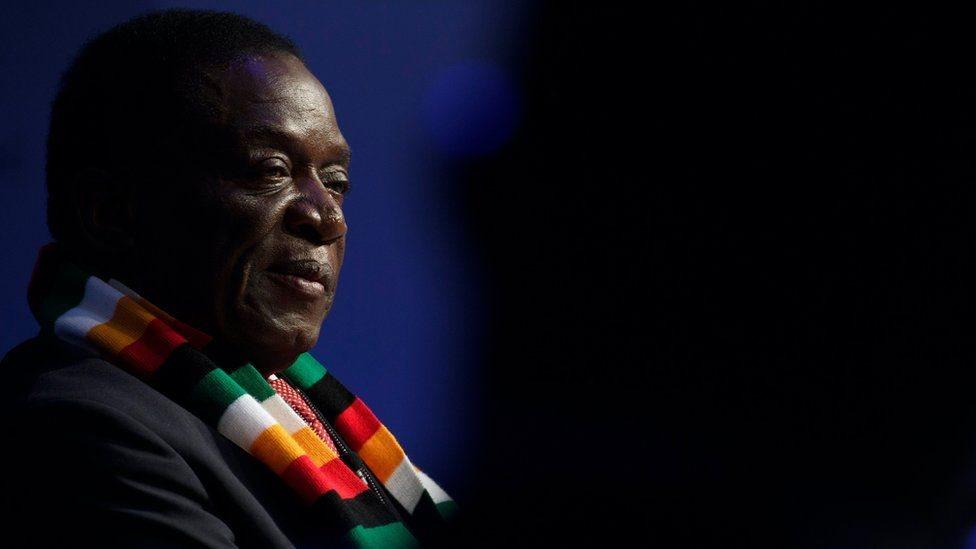 Presiden Mnangagwa