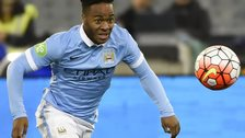 Raheem Sterling of Man City