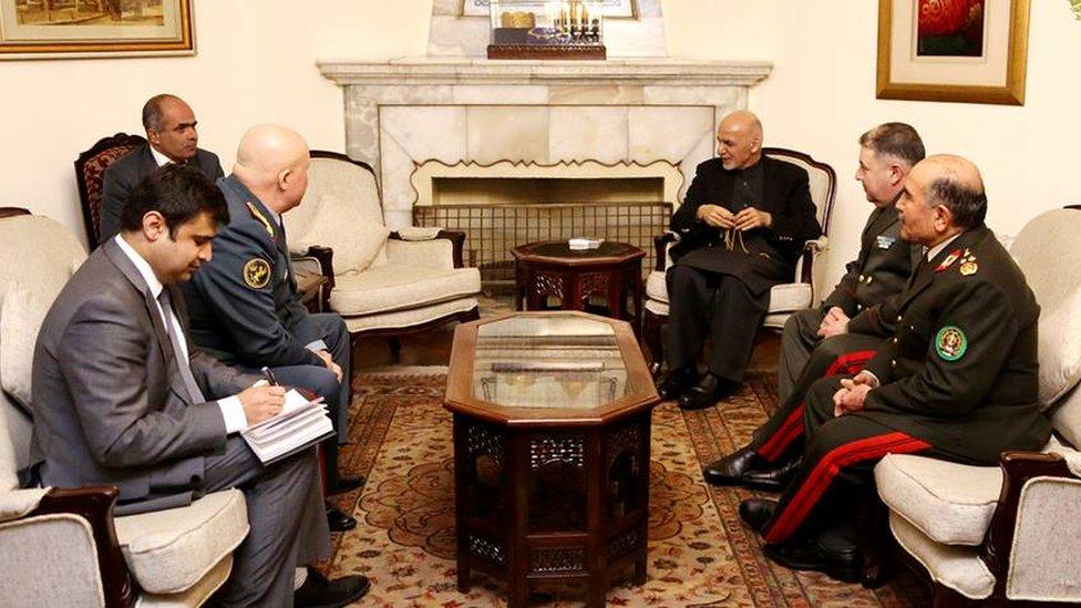 برگزاری نشست مشترک روسای ستاد ارتش چهار کشور در کابل