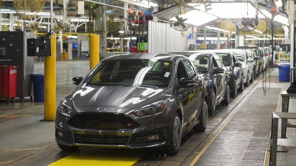 Una planta en Michigan, EE.UU., dejará de producir el modelo Focus en 2018, el cual pasará a ser fabricado en principalmente en China.