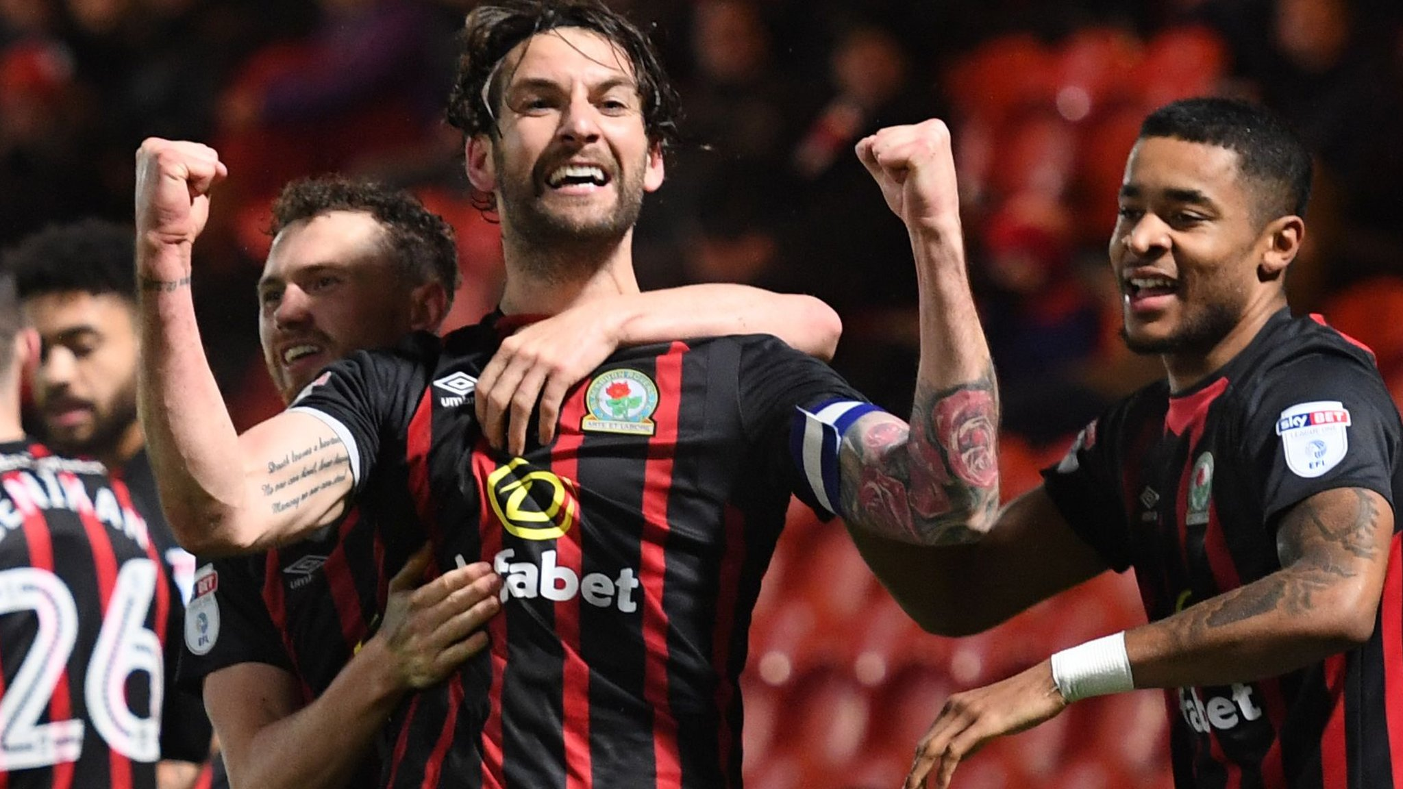 Blackburn promoted back to Championship at first attempt