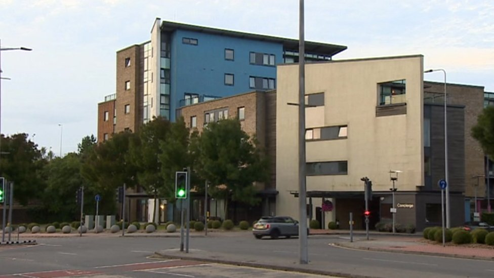 Cladding to be replaced at Prospect Place private flats