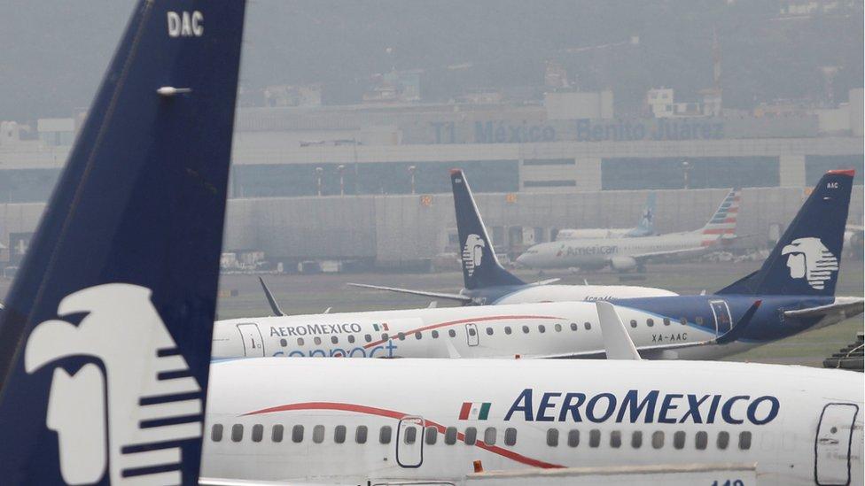 Los vuelos estaban promocionados usando papelería con logotipos de Aeroméxico, lo que hizo creer a muchos clientes que era un trato legítimo.