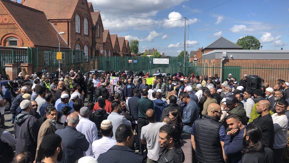 Birmingham LGBT school row: Protests 'won't stop lessons'