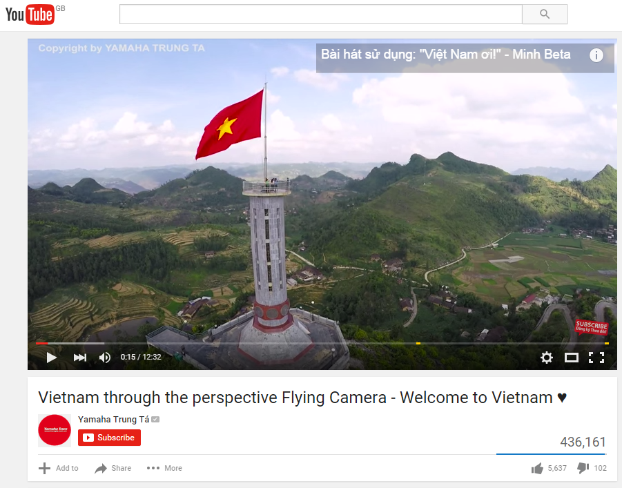 Bui Minh Tuan used drones to capture stunning aerial shots - but got upset when Vietnam's national broadcaster used them without permission