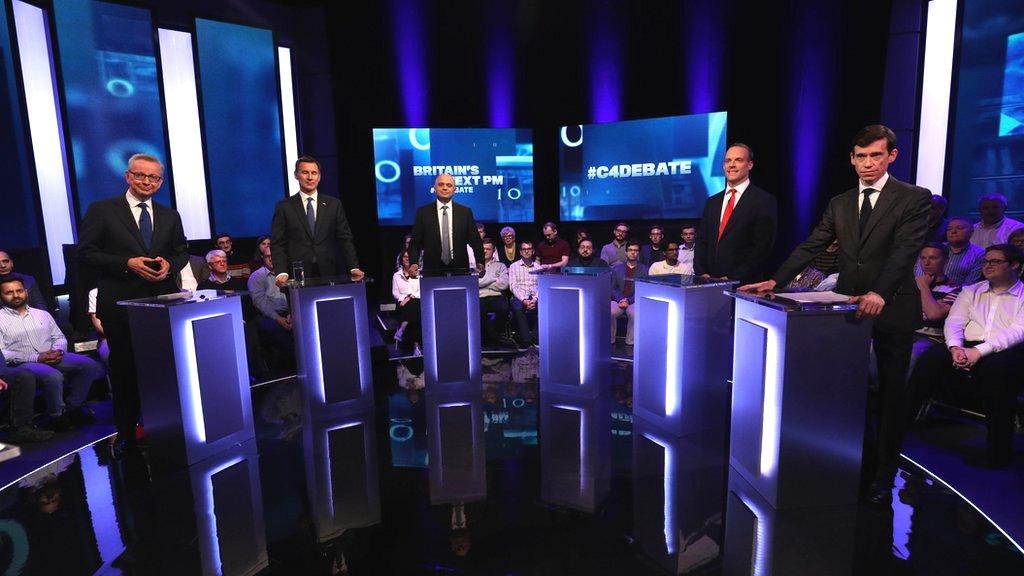 Key moments from Tory leadership TV debate