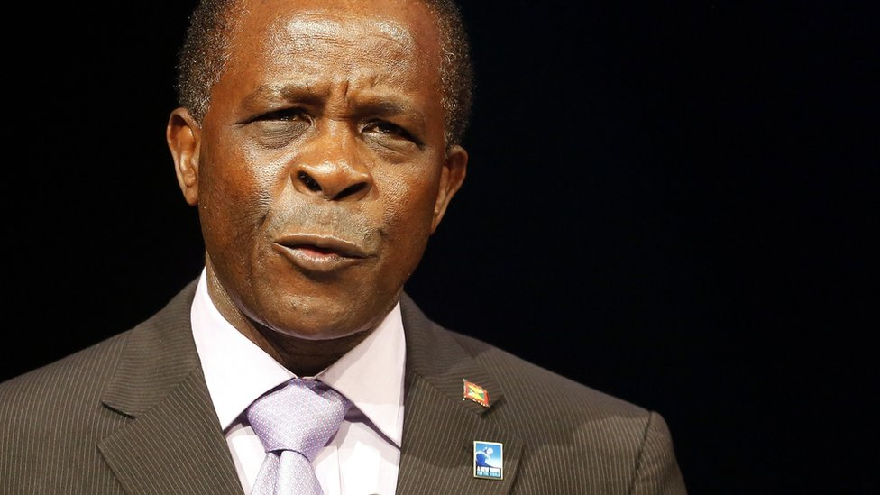 Grenada's Prime Minister Keith Mitchell