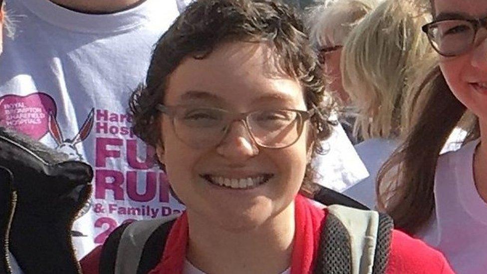 Becca Henderson: Transplant hope for rucksack heart woman