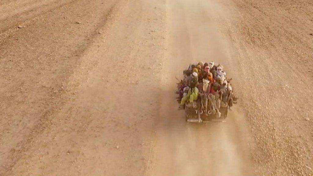 Sahara desert: The most dangerous migrant journey of all?