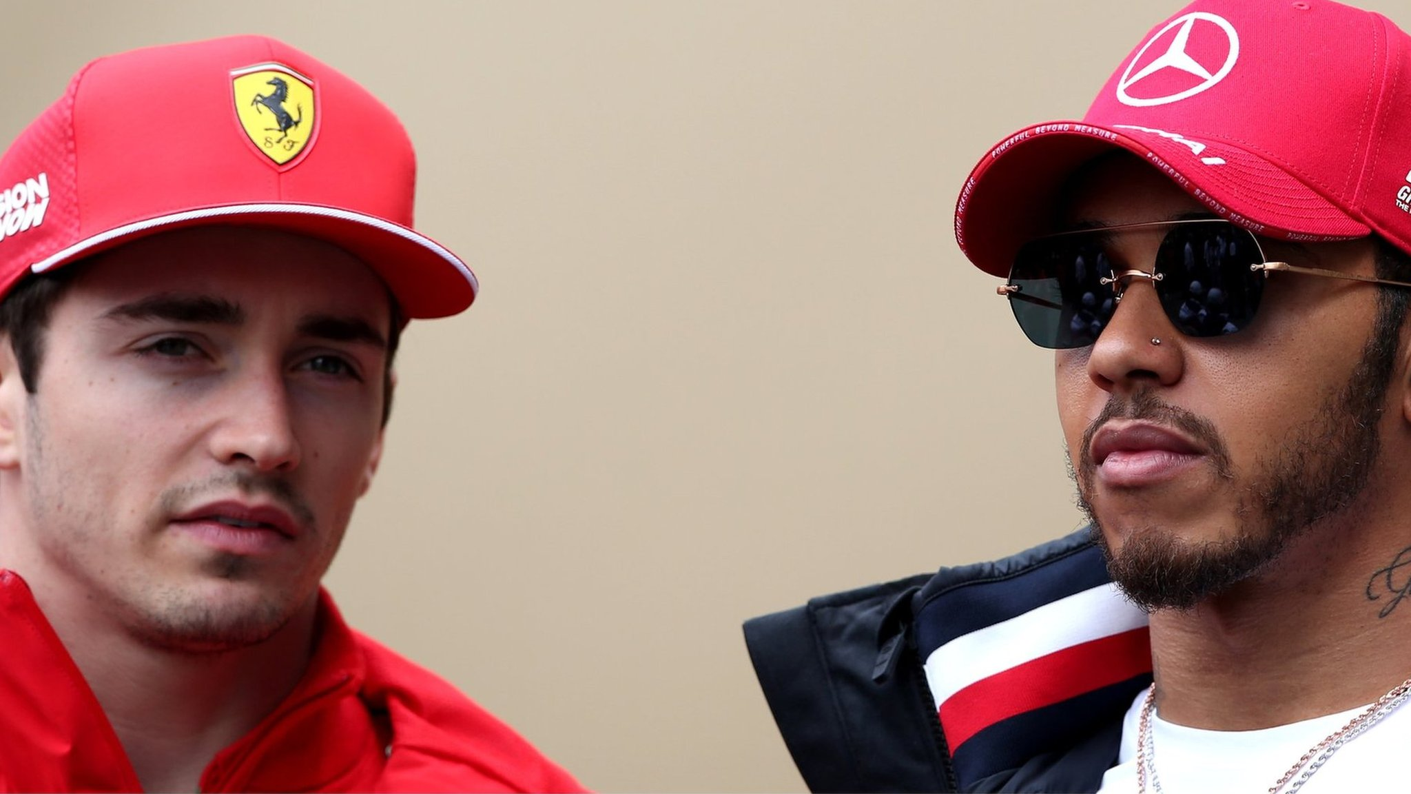 Lewis Hamilton: 'I can see myself' in Charles Leclerc