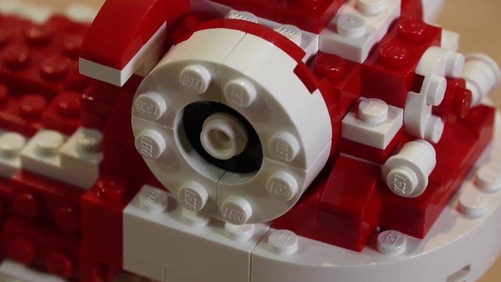 Jeffrey Kong: Singapore's Lego brick artist
