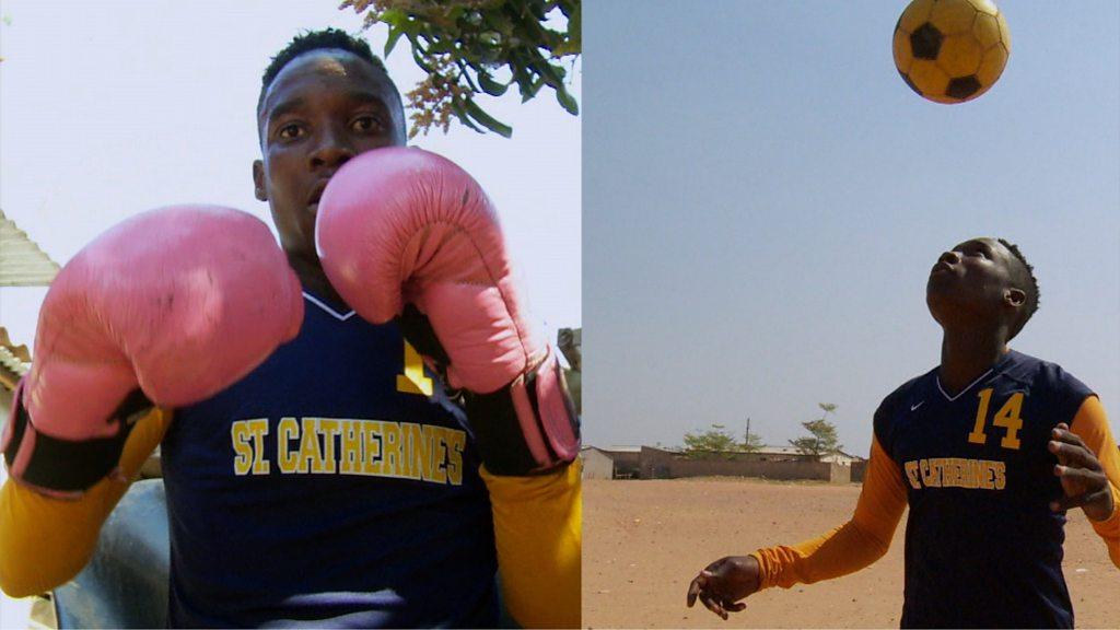 Zambia's Barbra Banda: The striker who is also a boxer