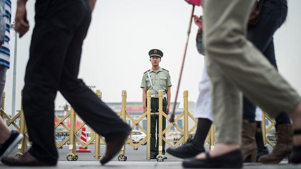 中國認為在「反恐」問題上急需調動公民的積極性。(BBC中文網)