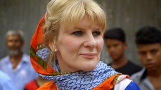 Ear implant woman helps Bangladesh kids