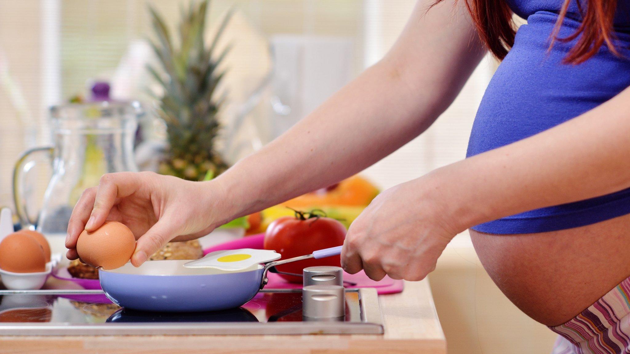 Raw eggs 'safe for pregnant women'