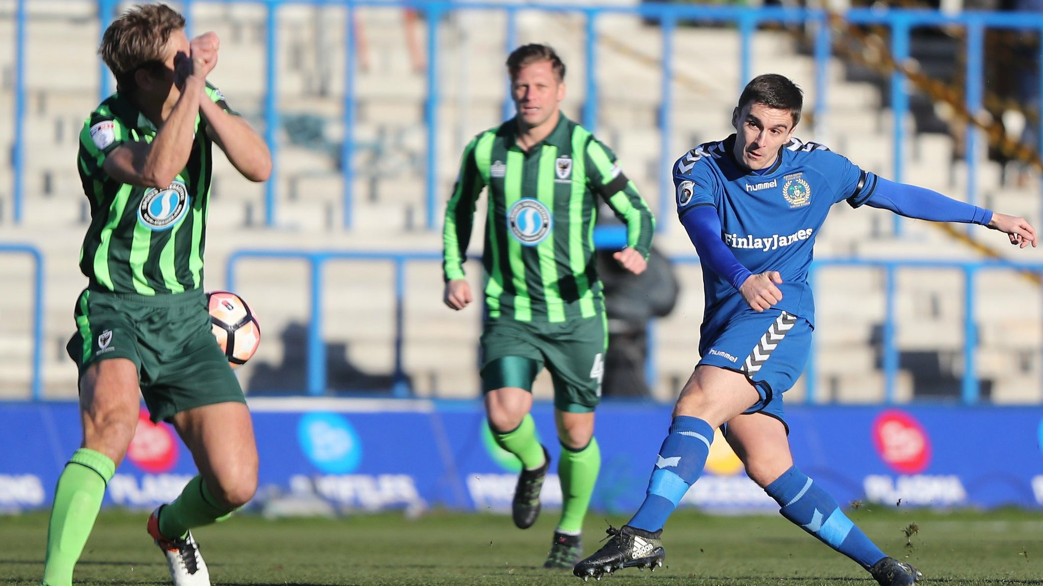FA Cup: Adam Morgan's strike for Curzon Ashton voted goal of second round