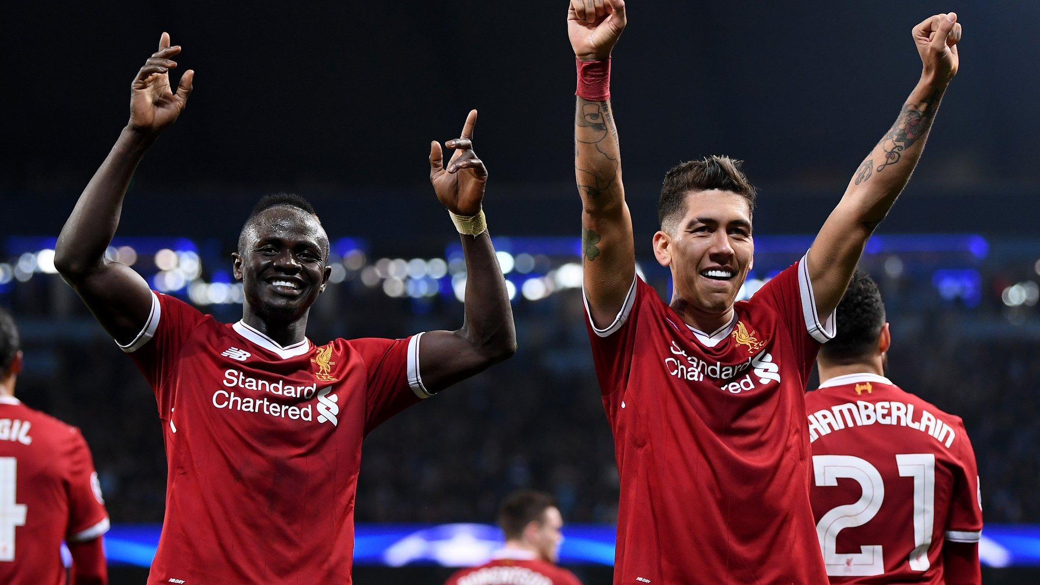 Champions League semi-finals: Liverpool v Roma, Bayern Munich v Real Madrid