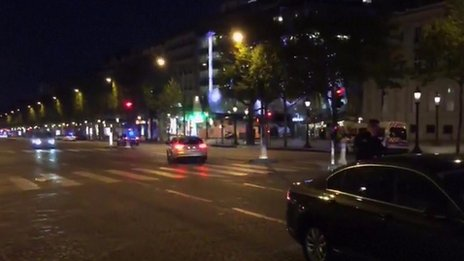 فرانسه له ترهګر بريد وروسته