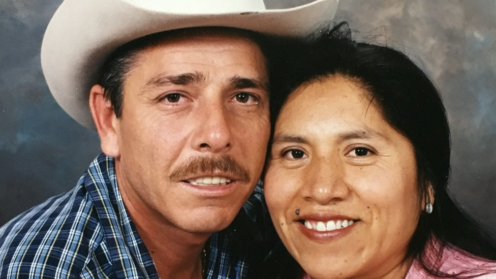 Rosenda y Francisco Duarte.