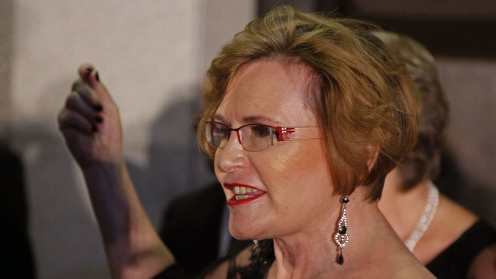 Helen Zille: Why South African politician will only shower every three days