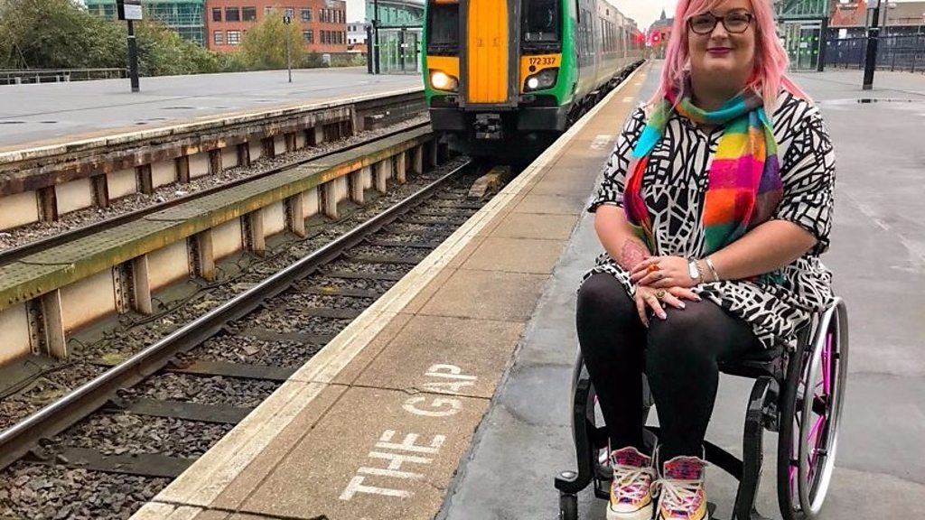 Train app could help disabled travellers