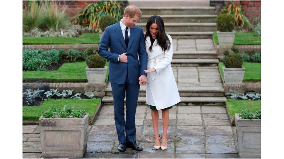 الأمير هاري و خطيبته