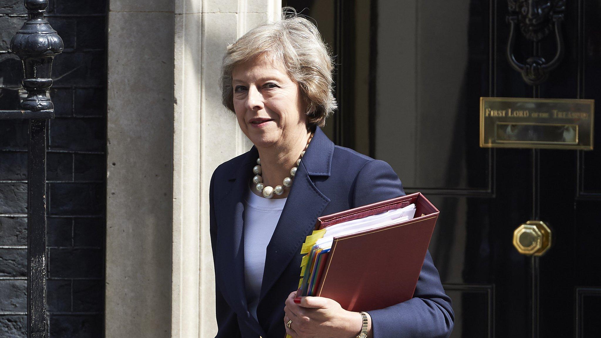 Theresa May to make first visit to NI as PM