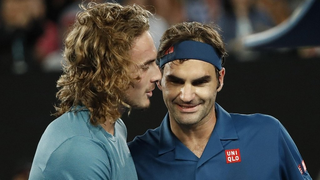 Federer suffers shock last-16 loss to Tsitsipas