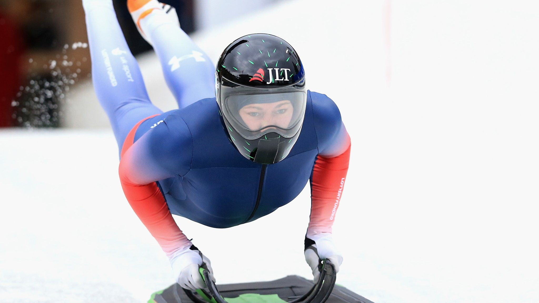 Lizzy Yarnold: Olympic champion misses out on meda