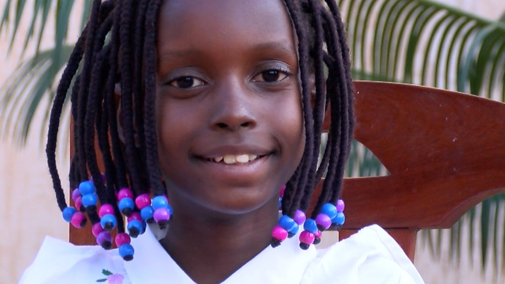 Tanzanian nine-year-old poet: 'I want to show everything is possible'