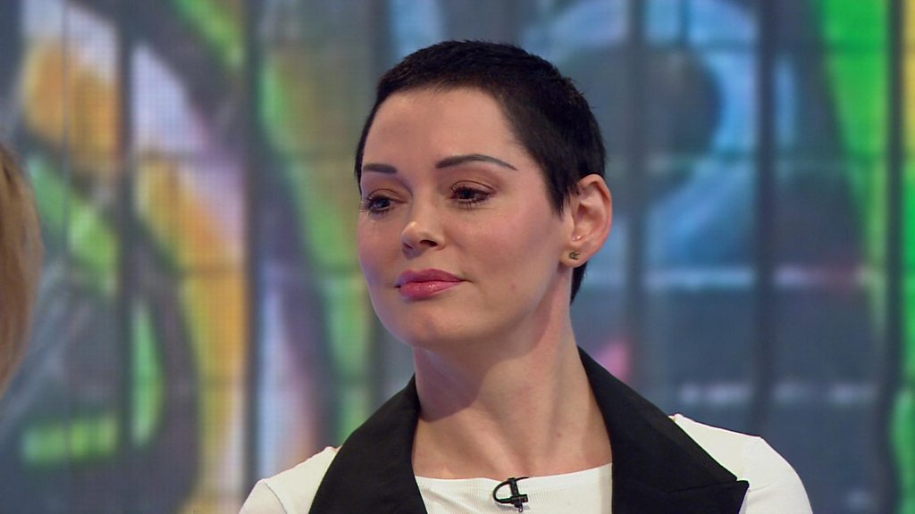 US actress Rose McGowan: Weinstein tried to text me