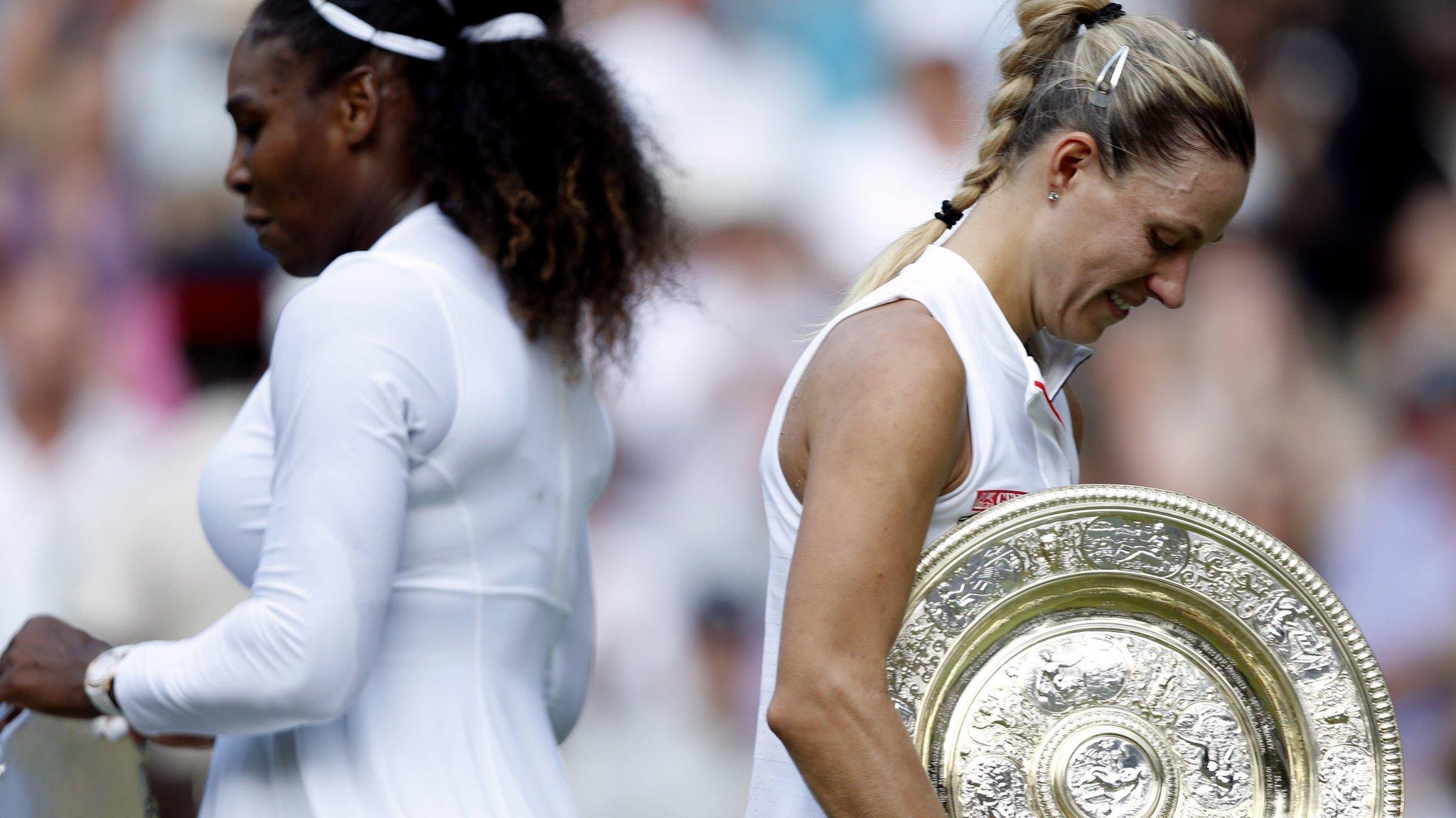 I'm still contender at Slams - beaten finalist Williams
