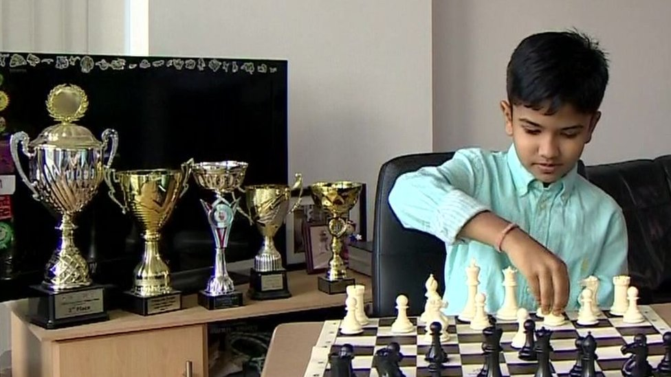 Shreyas Royal: Child chess prodigy's family can stay in UK
