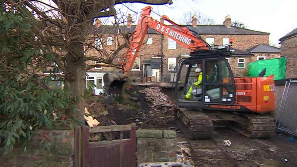 Ripon Sinkhole: Repair Works Starts on Site
