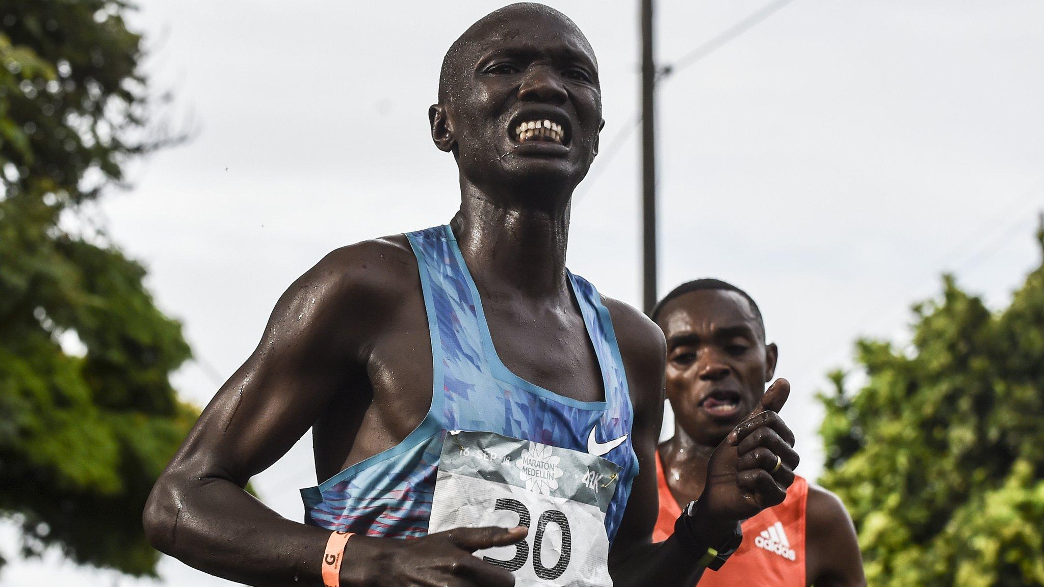 Joseph Kiprono Kiptum: Kenyan athlete hit by car during Medellin half marathon