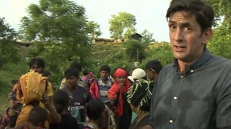 جاست رولات مراسل بي بي سي في ميانمار