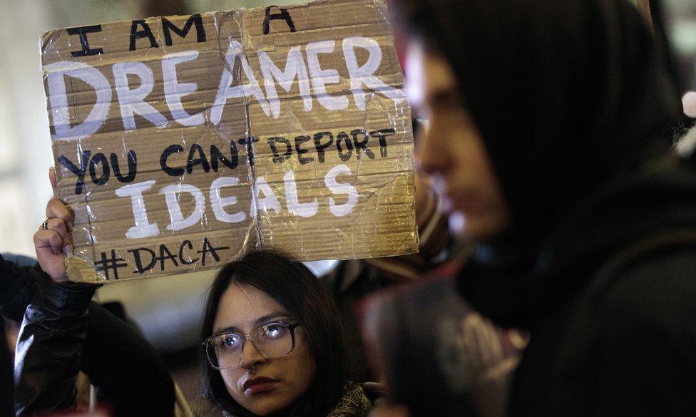 El fin del programa DACA, que continúa provocando grandes protestas, tendrá según los expertos una repercusión negativa sobre la economía de EE.UU.