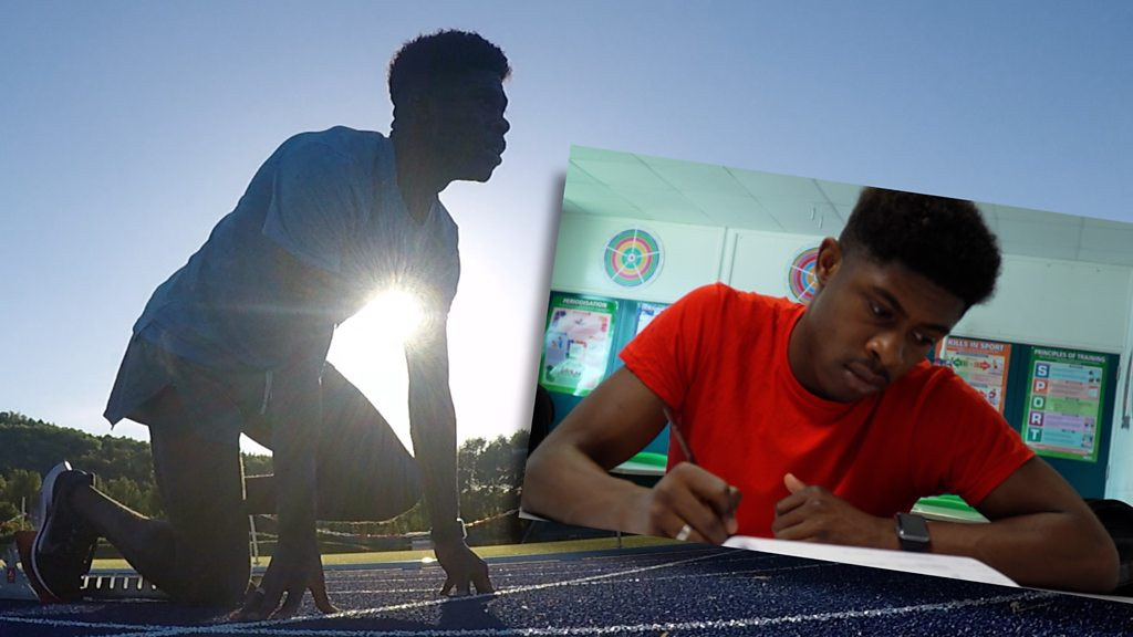 Jeremiah Azu: From Europe's fastest teenager to sitting A-levels in a week