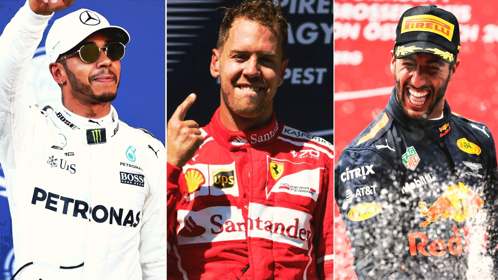 Formula 1: Pick your top three drivers of the season so far