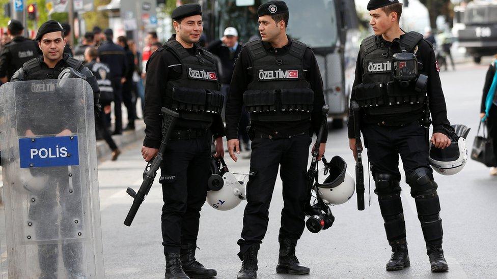 Turki, polisi
