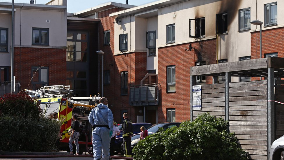 Woolwich fire: Woman was 'victim of drugs feud'