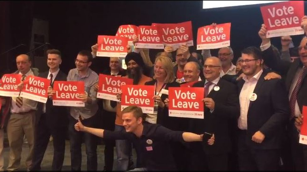 First West Midlands EU results back leave
