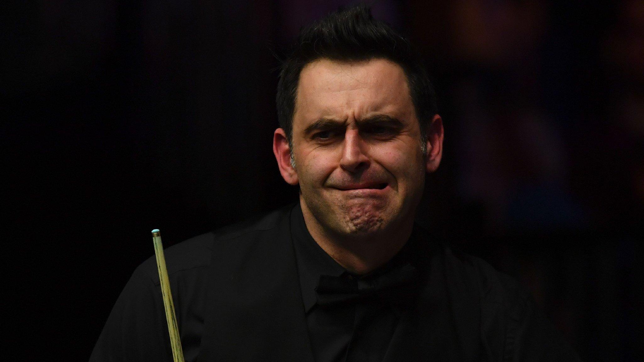 Ronnie O'Sullivan: Masters champion 'felt so vulnerable' in final