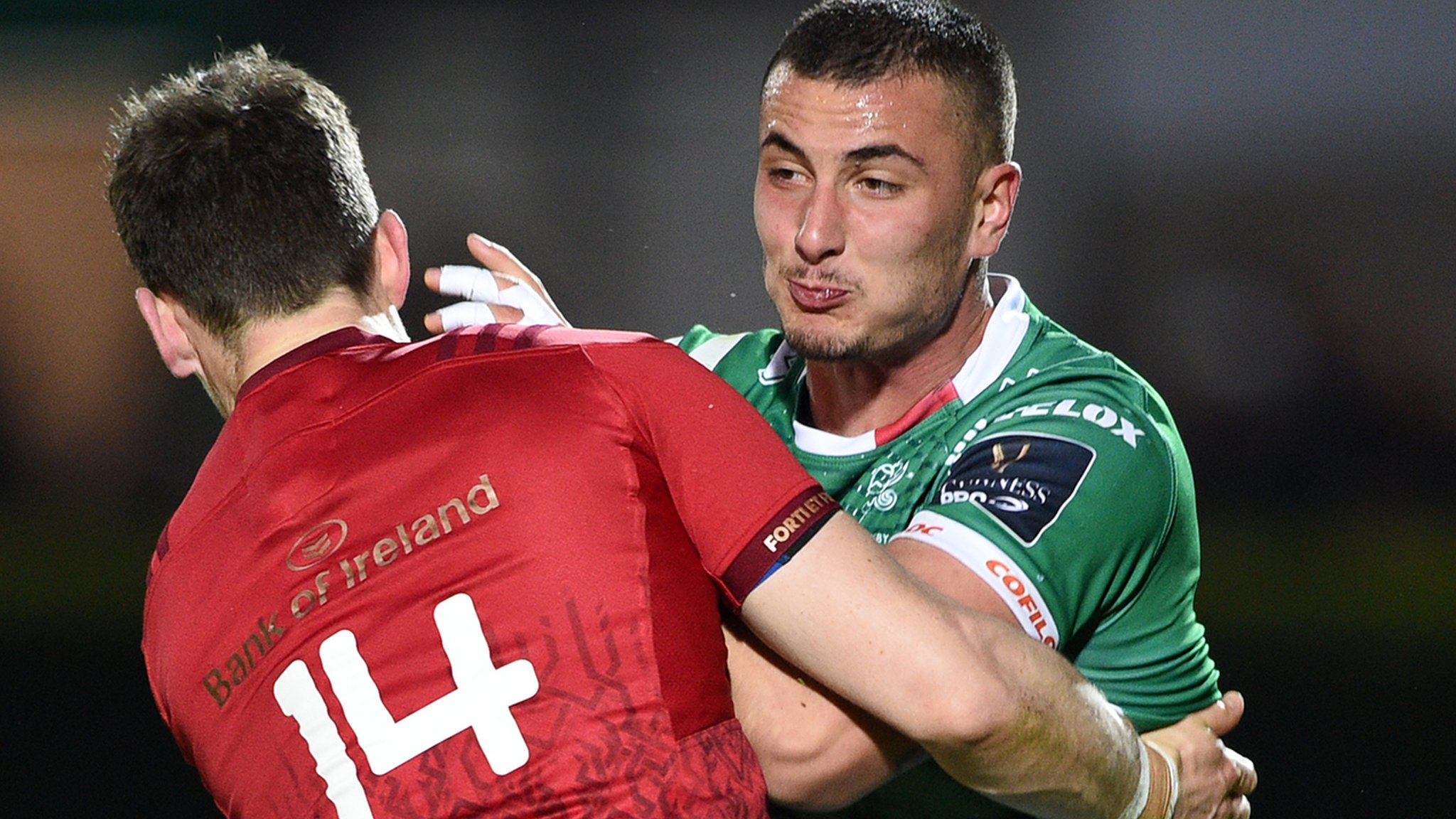 Pro14: Bonus-point 37-28 win sends Munster top of Conference A table