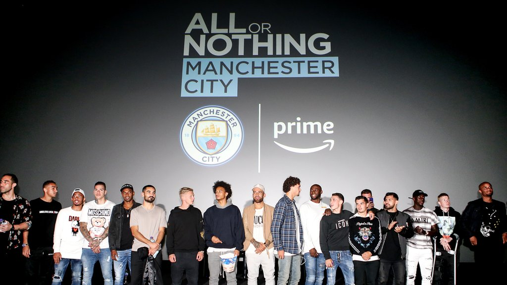 What we've learned from Man City documentary