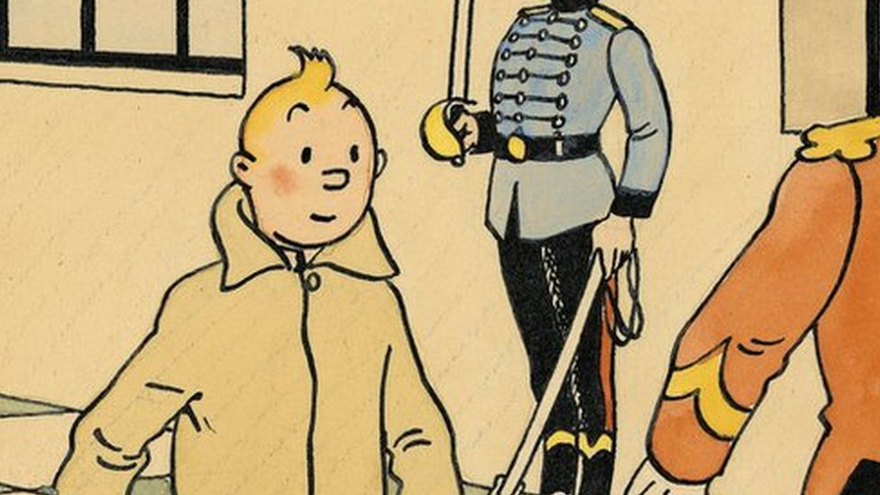 Rare Tintin art fetches $500,000 at Paris auction