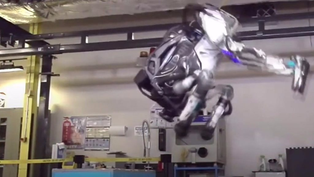 The humanoid robot that can do a backflip