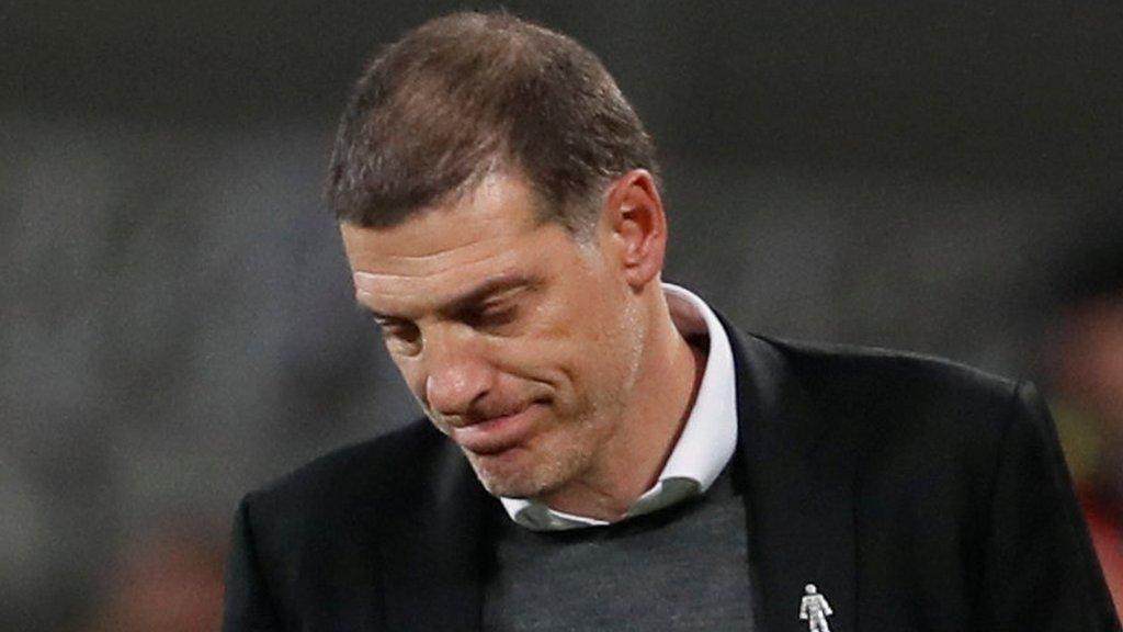 Bilic 'not worried' after West Ham lose 3-0 to Brighton
