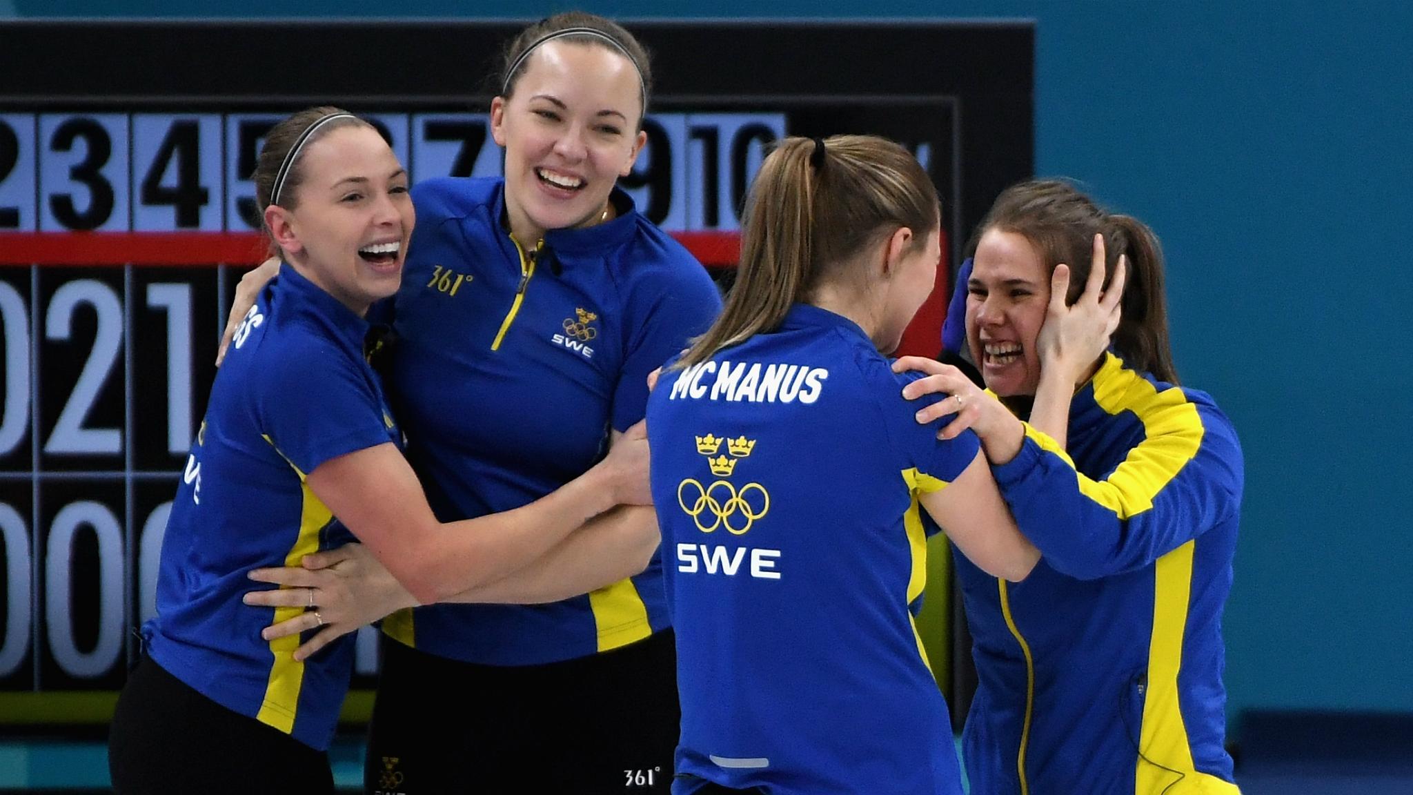 Watch five best shots as Sweden take curling gold