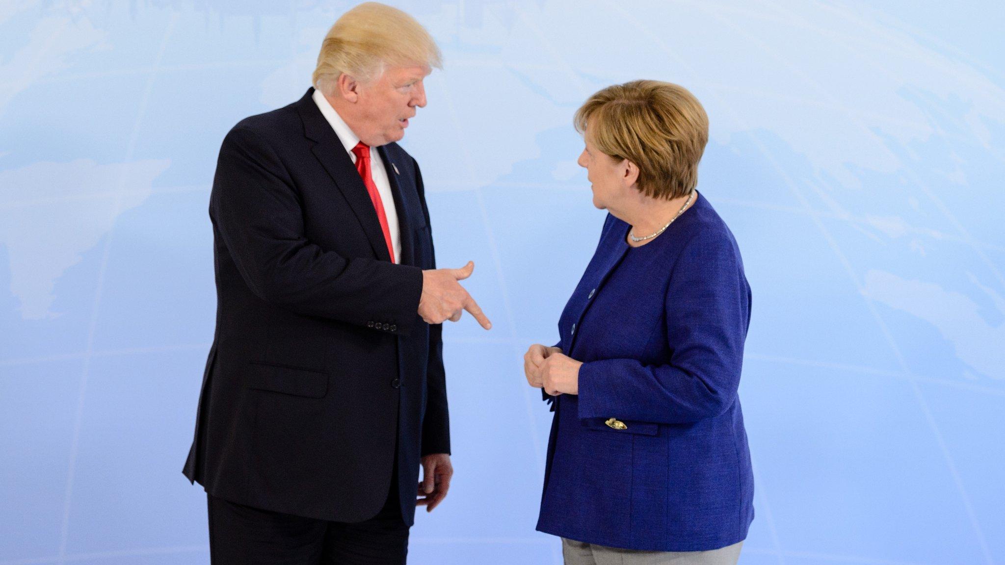 German car shares dip on Trump tariff tweet